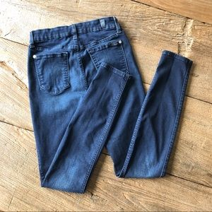 7 For All Mankind Jeans - 7 For All Mankind Mid Rise Skinny Jean